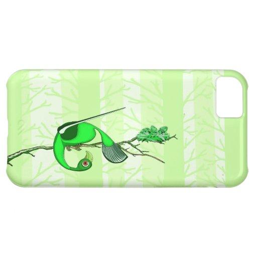 Colorful Green Birds- iPhone 5 (TiguDesign) iPhone 5C Cases