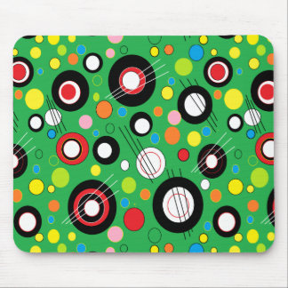 Colorful Green Mouse Pad