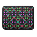 colorful green pink polka dots sleeves for MacBooks