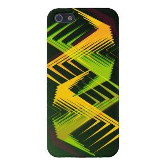 Colorful Green Yellow iPhone Case