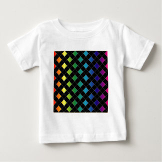 Colorful grid baby T-Shirt