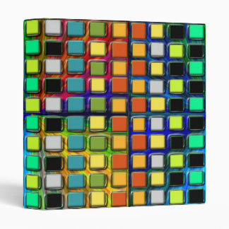 Colorful Grid-Tiled by Shirley Taylor Binder