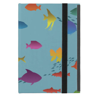 Colorful Group of Fish Underwater Case For iPad Mini