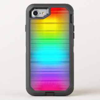 Colorful Growing Pattern OtterBox Defender iPhone 7 Case