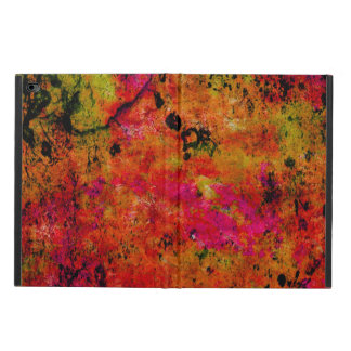 Colorful Grunge,hot red Powis iPad Air 2 Case