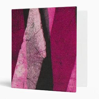 Colorful Grunge Look  Notebook/Binder/Photo Album 3 Ring Binder