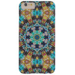 Colorful Grunge Mandala Barely There iPhone 6 Plus Case