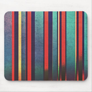 Colorful Grunge Pattern Mouse Pad