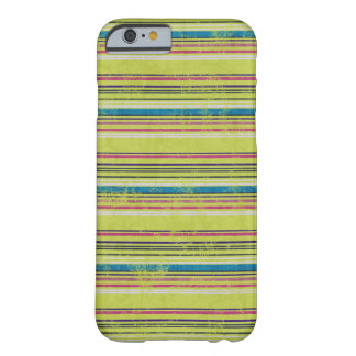Colorful Grunge Stripes iPhone 6 case
