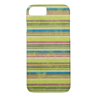 Colorful Grunge Stripes iPhone 7 case