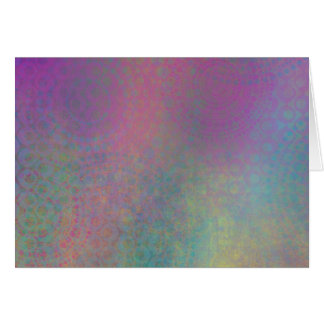 Colorful, Grungy Texture Abstract Remix Card