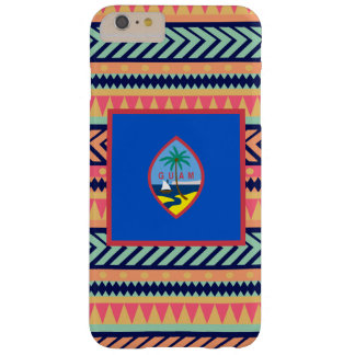 Colorful Guam Flag Box Barely There iPhone 6 Plus Case