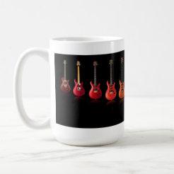 Colorful Guitar Mug