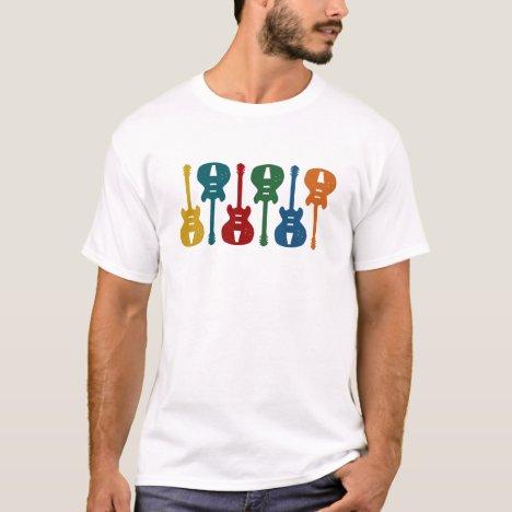 Colorful Guitars T-Shirt