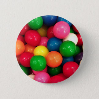 Colorful Gum Ball Candy Button