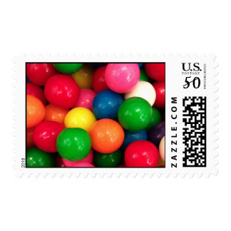 Colorful Gum Ball Candy Postage