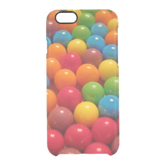 Colorful Gumballs Clear iPhone 6/6S Case