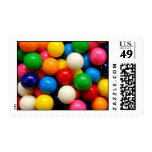 Colorful Gumballs Postage Stamp