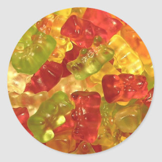 Colorful Gummy Bears Stickers
