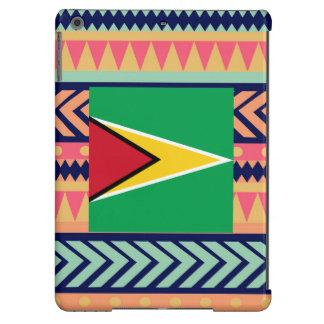 Colorful Guyana Flag Box Cover For iPad Air