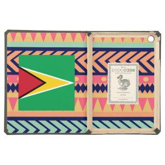 Colorful Guyana Flag Box iPad Air Covers