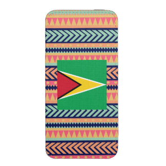 Colorful Guyana Flag Box iPhone 5 Pouch