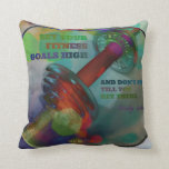 Colorful Gym Pillow with Weights 001