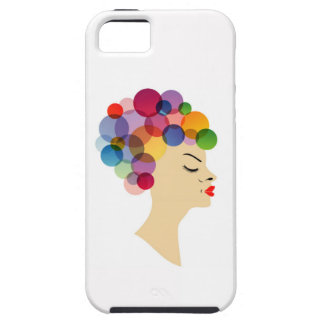 colorful hair iPhone SE/5/5s case