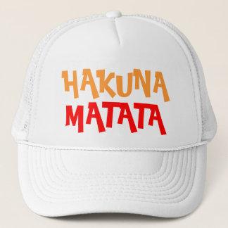Colorful Hakuna Matata Trucker Hat