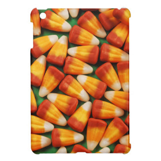Colorful halloween candy corn print iPad mini covers