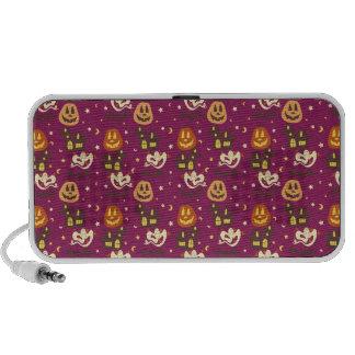 Colorful Halloween Pattern iPod Speaker