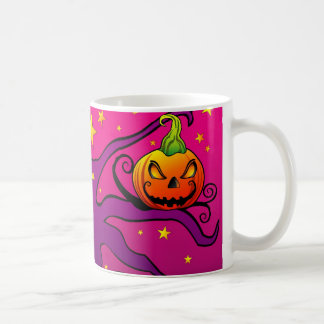 Colorful Halloween Pumpkin Mug
