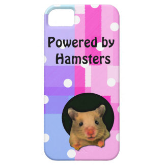 Colorful Hamster iPhone 5 phone case