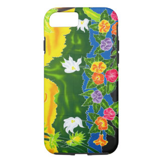 Colorful hand painted wraps.  Moorea, French iPhone 7 Case