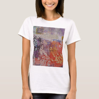Colorful Hand Printed Design T-Shirt