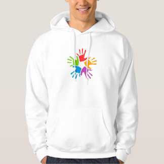 Colorful Hands Hoodie