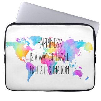 Colorful Happiness Funda Portátil