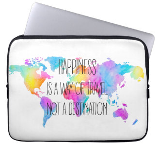 Colorful Happiness Laptop Computer Sleeve