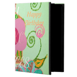 Colorful Happy Birthday my Little Princess Cover For iPad Air
