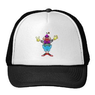 Colorful Happy Clown Trucker Hats