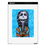 Colorful Happy Day of the Dead Skeleton Skins For The iPad