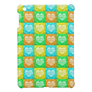 Colorful Happy Easter Pattern iPad Mini Cover