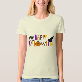 Colorful Happy Halloween T-shirt