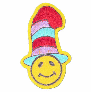Colorful Happy Hippie Smiley Face Statuette
