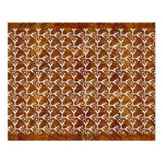 Colorful Happy  Jewel Pattern : Happy Holidays Poster
