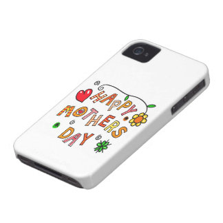Colorful Happy Mothers Day Case-Mate iPhone 4 Case