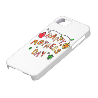 Colorful Happy Mothers Day iPhone 5 Case