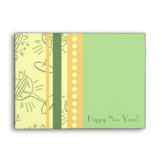 Colorful Happy New Year Envelopes