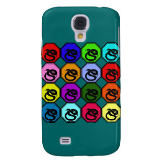 Colorful Happy New Year of the Snake Pop Art Samsung Galaxy S4 Cover