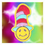 Colorful Happy Smiley Face Invitations